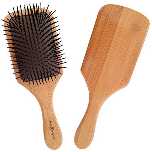 Haarwerkstatt - Profi Haarbürste für Damen & Herren - Die optimale Holzbürste für Ihr Haar