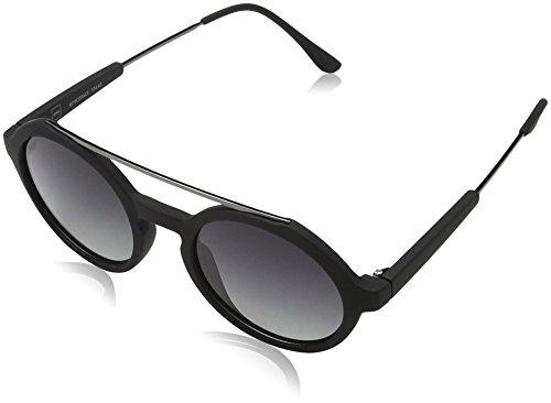 MSTRDS Unisex Retro Space Sonnenbrille, Schwarz (black/grey 5161), (Herstellergröße: one size)