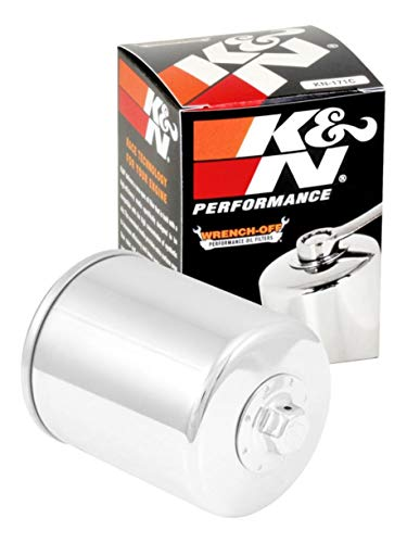 K&N Motorcycle Oil Filter: High Performance, Premium, Designed to be used with Synthetic or Conventional Oils: Fits Select Harely Davidson, Buell Motorcycles, KN-171C