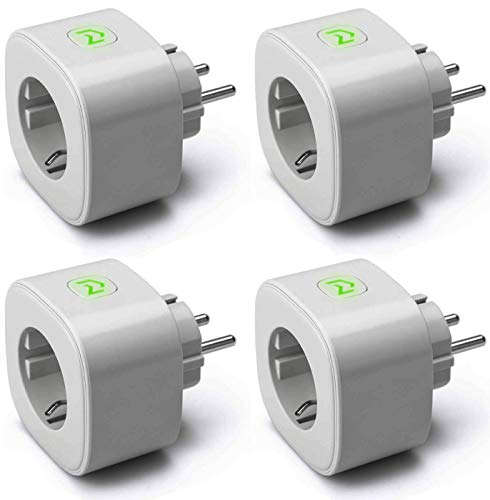 Enchufe Inteligente, Wi-Fi Smart Plug, 16A 3680W