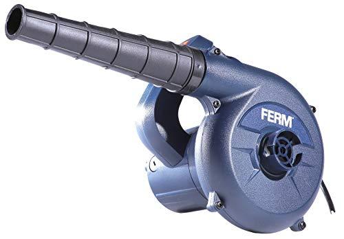 FERM Elektro Staubbläser 400W - Variable Geschwindigkeit - Inkl. Staubsack und 3m Kabel