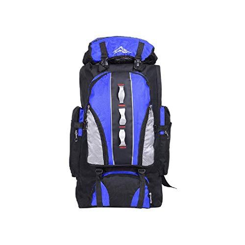 ZXBAO バックパック-キャンプ、旅行、アウトドアスポーツのための軽量ハイキングバックパック、ハイキングバックパック、男性女性キャンプトレッキングツーリング (Color : Sky blue)