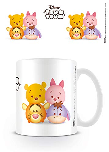 Tsum Tsum Taza de cerámica Winnie The Pooh, Multicolor