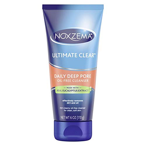 Noxzema Ultimate Clear Daily Deep Pore Cleanser 6 oz (Pack of 3)