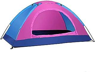 Tält utomhus camping bärbar vattentät vandringstält anti-UV 2 personer solskydd ultralätt tält 200 x 120 x 110 cm