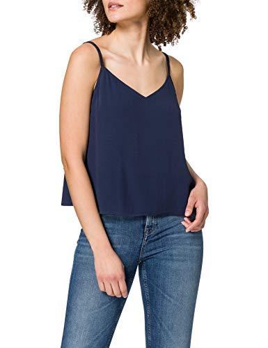 Tommy Jeans TJW Cami Top Camisa, Azul Marino (Twilight Navy), L para Mujer
