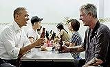 Lomoko Barack Obama Anthony Bourdain Kunstdruck Foto