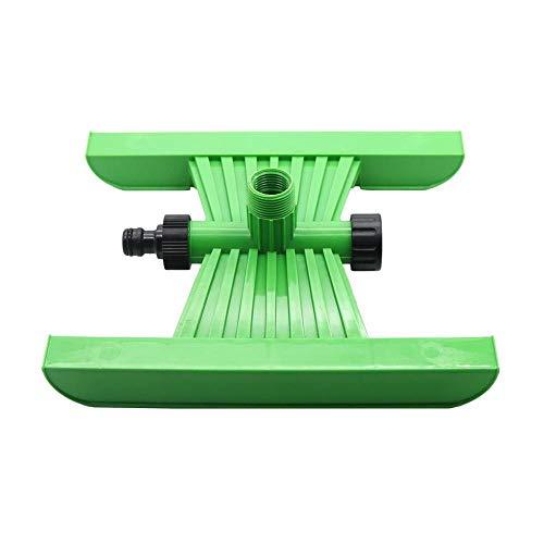 """GUANGHEYUAN-J 2 Stück Garten Sprinkler Sockel mit 1/2"""" Female & AMP3 / 4"""" Außengewinde Außen Rasen Bewässerung Bewässerung-Sprenger Unterseiten-Halter,Einfach zu bedienen (Color : Green)"""