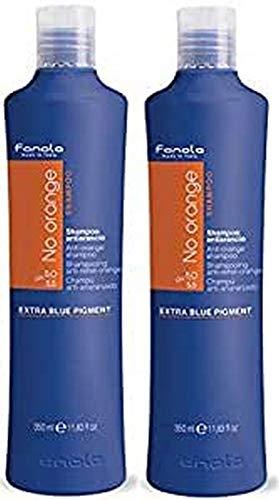Fanola Offiziell Shampoo (350Ml X 2, Anti-Orange Shampoo)