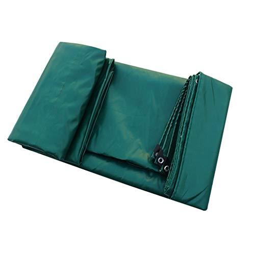 AOLI Staubdichtes wasserdichtes Planen-LKW-Schuppen-Tuch - grünes Planenblatt - UV-Schutz - Dicke 0,6 mm, 650 g / m2,6 Größenoptionen,6M * 5M