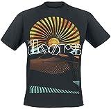 The Doors Day Break Hombre Camiseta Negro M, 100% algodón, Regular