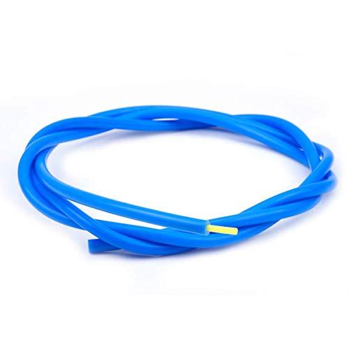 Tubo de teflón de impresora 3D para boquilla, FYSETC 1 metro PTFE 1,75 mm ID de filamento 1,9 mm OD 4 mm TL-Feeder Hotend para Reprap Rostock Bowden Extruder-Blue