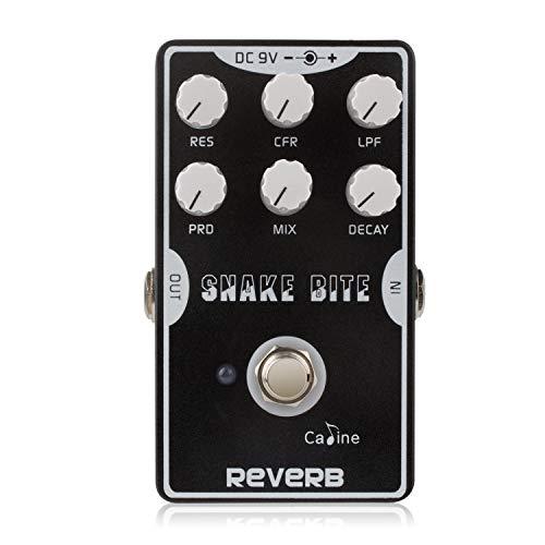 Caline CP-26 REVERB Gitarre Effektpedal Aluminiumlegierung-Gehäuse True Bypass