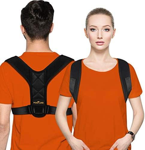 Posture Corrector for Men and Women Posture Brace Adjustable Upper Back Brace for Clavicle Support product image
