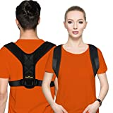 Posture Corrector for Men and Women - Posture Brace, Adjustable Upper Back Brace for Clavicle Support and Providing Pain Relief from Neck, Back and Shoulder (Universal)