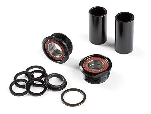 DARTMOOR Euro BB Intro Series, pour axe 19mm Boitier de pédaliers BMX/VTT Mixte Adulte, Noir
