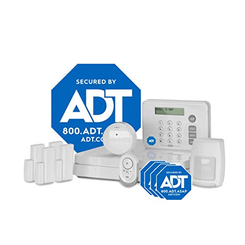 ADT DIY LifeShield 11-Piece Easy, Smart Home Security System - Optional 24/7 Monitoring - No Contract - Wi-Fi Enabled - Alexa Compatible