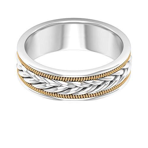 Rosec Jewels 10 quilates oro blanco 'NA