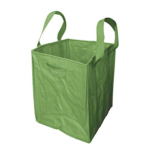 Martha Stewart MTS-MLB1 48-Gallon Multi-Purpose Reusable Heavy Duty Garden Tote Bag, Bay Leaf Green