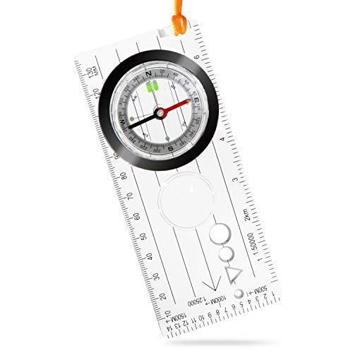 コンパス 方位磁石 (耐温度:-30〜60℃) 【 登山 キャンプ などのアウトドア 活動 地震 などの 災害 でも役に立つアイテム! 】 方位磁針 ほういじしゃく こんぱす 羅針盤 防災用品 登山用品 『特殊構造の軸受けで動いている状態でも確認が可能です