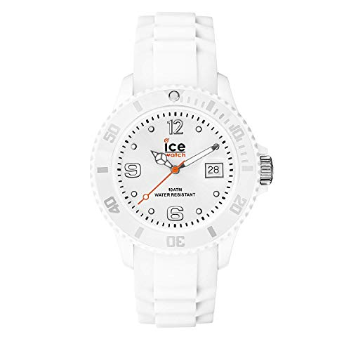 Ice-Watch - ICE forever White - Orologio bianco Unisexcon Cinturino in silicone - 000134 (Medium)