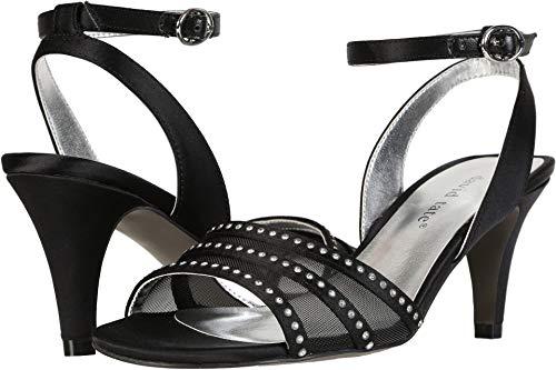David Tate Womens Allana Embellished Dress Sandals Black 9 Narrow (AA,N)