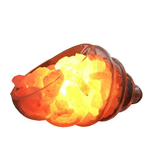 Luminaires & Eclairage/Luminaires intérieur/EC Lumière de Nuit de conque Cristal lumière de sel de Roche Naturelle lumière de lit tête de lit lumière de la Maison créatrice lumière de la Roche Him