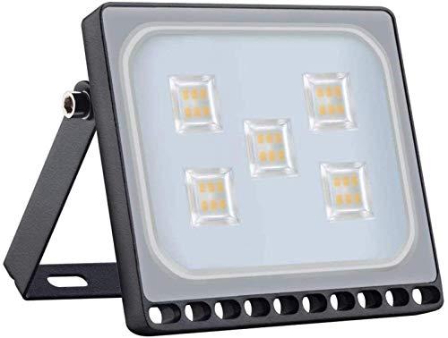 THj Proyector LED de 500 W, Foco para Exteriores, luz de Pared de Gran Altura, luz de Seguridad Brillante, Impermeable IP67, 50000LM 2800-3200K AC 220-240V