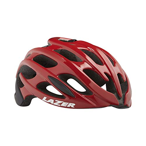 Lazer Blade+ - Casco de Bicicleta - Rojo/Negro Contorno de la Cabeza L | 58-61cm 2019