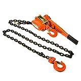 CTCAUTO Lever Block Manual Chain Hoist 1.5 ton 10ft. Chain
