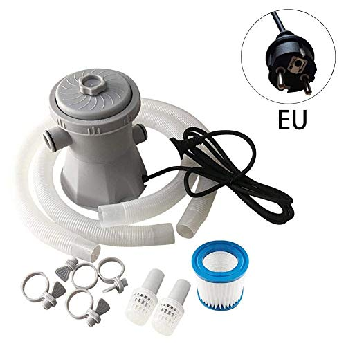 Elektro-Circulation Pool Filterpumpe Pool-pumpe Wasserfilter Set 300 Gallon Für Swimming Pool Garten Außen