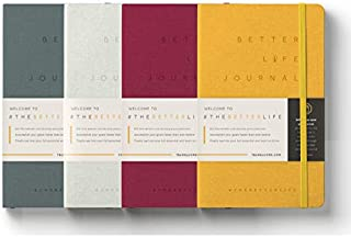 Dean Graziosi Better Life Journal, Outcome Journaling, 4 Pack (Full Year)