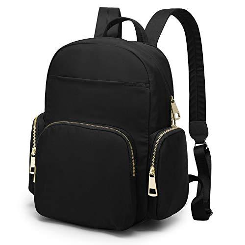 WindTook Backpack for Women Ladies Mini Nylon Daypacks Casual Lightweight Shoulder Travel Bag for Girls Mini Size-873-Black