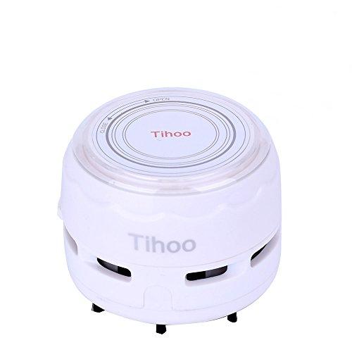Tihoo 卓上掃除機 乾電池式 ミニクリーナー 強力吸引 DIY保護カバー キーボード掃除機 電動卓上クリーナー