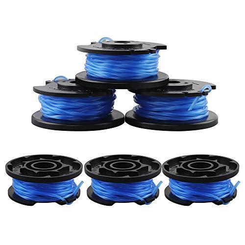 6 Pièces Bobines de Rechange pour Câble d'Alimentation Automatique Ryobi One + AC14RL3A-18V 24V 40V Ryobi Bobines de Fil pour Coupe-Bordure