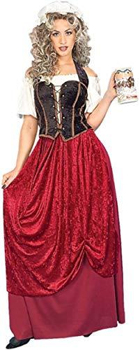 EL CARNAVAL Disfraz Posadera Medieval Mujer Adulto