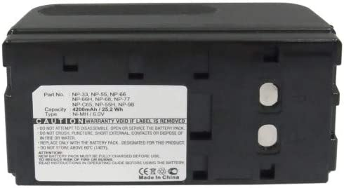 Synergy Digital Camera Battery security with PV-EM100 Compatible Pentax Special Campaign