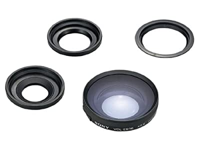 Sony VCLES06A One-Touch Tele Conversion Lens x0.6 for 37mm Lens for DCRDVD92, 203, 405, 405, 505 Camcorders by Sony