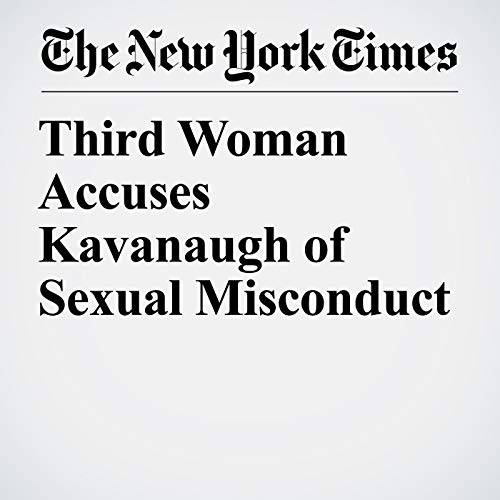 Third Woman Accuses Kavanaugh of Sexual Misconduct copertina