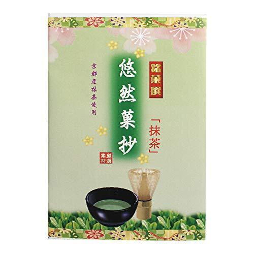 悠然菓抄 抹茶小箱 6個入×4箱 イソップ製菓 熊本産小麦粉使用カステラ生地で抹茶あんを手巻きにした郷土菓子 仏事用