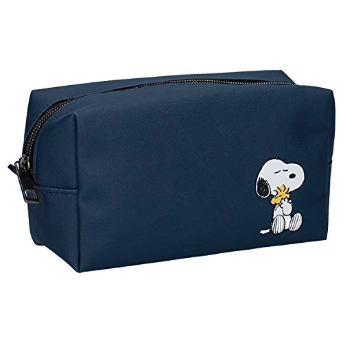 Peanuts Snoopy - Neceser, Color Azul