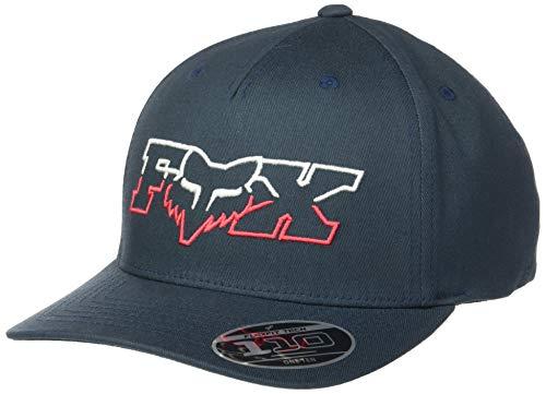 Fox Herren Duel Head 110 Snapback HAT Baseball Cap, Marineblau/rot, Einheitsgröße