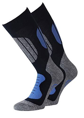 KB Chaussettes de ski chaussettes de ski chaussettes de randonnée Chaussettes de sport Chaussettes de trekking Chaussettes de trekking 35-38 39-42 43-46 47-50 1 paire-8 paires (43-46 bleu)