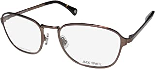 Jack Spade Samuel Mens Designer Full-rim Classic Shape Authentic Distinct Eyeglasses/Spectacles