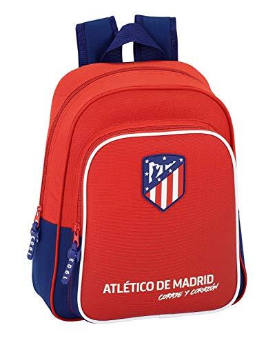 "Safta Mochila Atlético De Madrid ""Coraje"" Oficial Mochila Infantil 280x100x340mm"