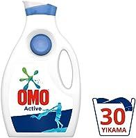 Omo Active Beyazlar Ve Renkliler İçin Sıvı Çamaşır Deterjanı, 1950 Ml, 30 Yıkama
