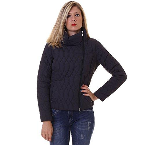 EA7Mountain W Shiny Jacket Damen, schwarz