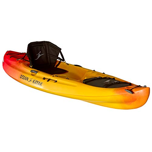 Ocean Kayak Caper Classic One-Person Recreational Sit-On-Top Kayak, Sunrise, 11 Feet