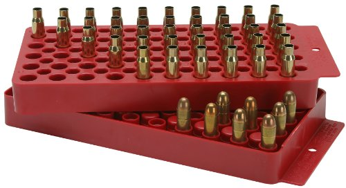MTM Universal Ammo Loading Tray Red (includes one tray)