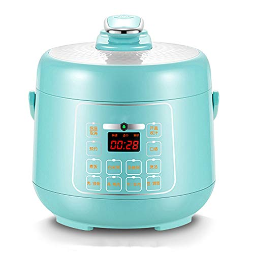 Electric Pressure Cooker, Pressure Cooker Programmable Multi-pot, Multi-function Electric Steamer, Steam, Slow Cooker, Steamer, 2.5 Liters, 600 W, Blue